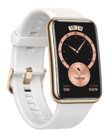 HUAWEI Smart Watch GT FIT ELEGANT Stia-B29 לבן מסגרת זהב