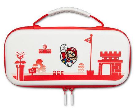 נרתיק נשיאה Super Mario לבן אדום
