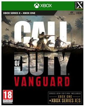 Call of Duty Vanguard XBOX הזמנה מוקדמת