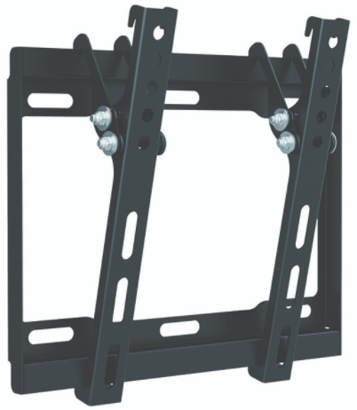 """LCD200T מתקן צמוד קיר לגודל מסך עד """"42 -""""17"""