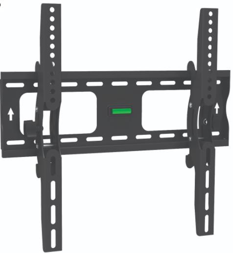 """LCD400T מתקן צמוד קיר לגודל מסך עד """"60 -""""32"""