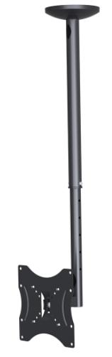 """DWD-1124 זרוע תקרה לגודל מסך עד """"42"""