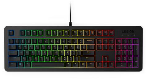 מקלדת גיימינג Lenovo Legion K300 RGB Gaming Keyboard