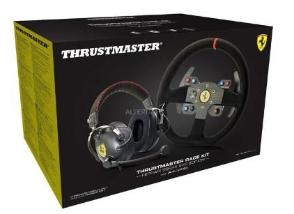 באנדל הגה ואוזניות Thrustmaster 599XX EVO