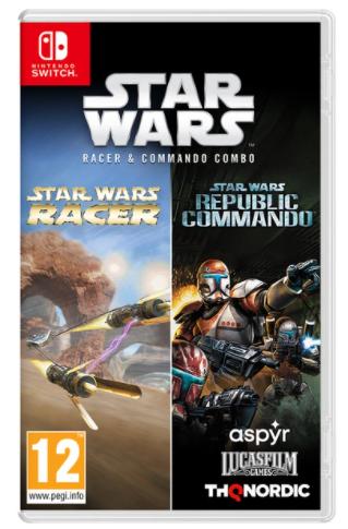 Star Wars Racer and Commando Combo Nintendo Switch הזמנה מוקדמת