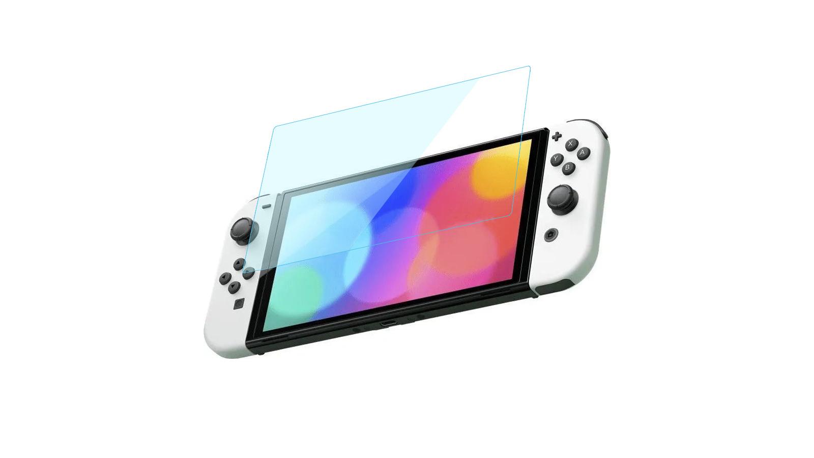 מגן מסך לקונסולת Nintendo Switch (דגם OLED)