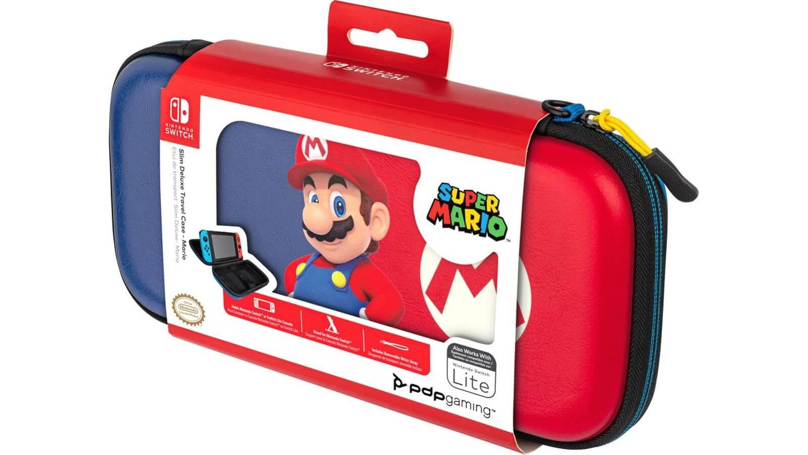 נרתיק נשיאה אוניברסלי – Slim Deluxe Travel – Super Mario