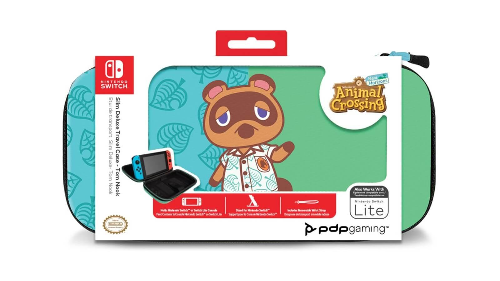 נרתיק נשיאה אוניברסלי – Slim Deluxe Travel – Animal Crossing