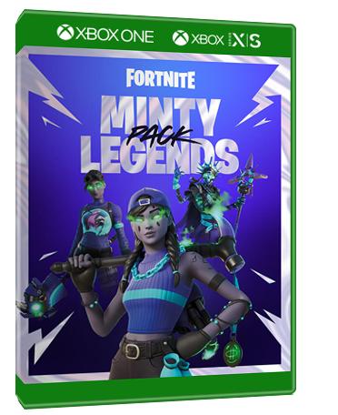 Fortnite Minty Legends Pack XBOX הזמנה מוקדמת