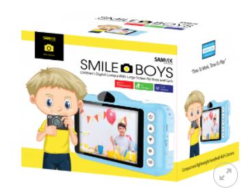 מצלמת ילדים סאמויקס סמייל בויז כחול SMAILEBOYZ