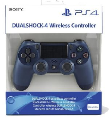 שלט מקורי Ps4 DualShock 4 - Midnight Blue