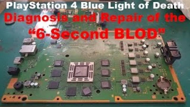 תיקון תקלת BLOD מכשיר נדלק ונכבה או דלוק ולא מציג תמונה