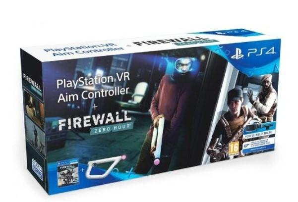 Playstation VR Aim Controller+משחק PS4 VR Firewall Sony