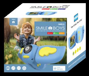 מסרטת ילדים סאמויקס סמייל בויז כחול SMILEBOYS