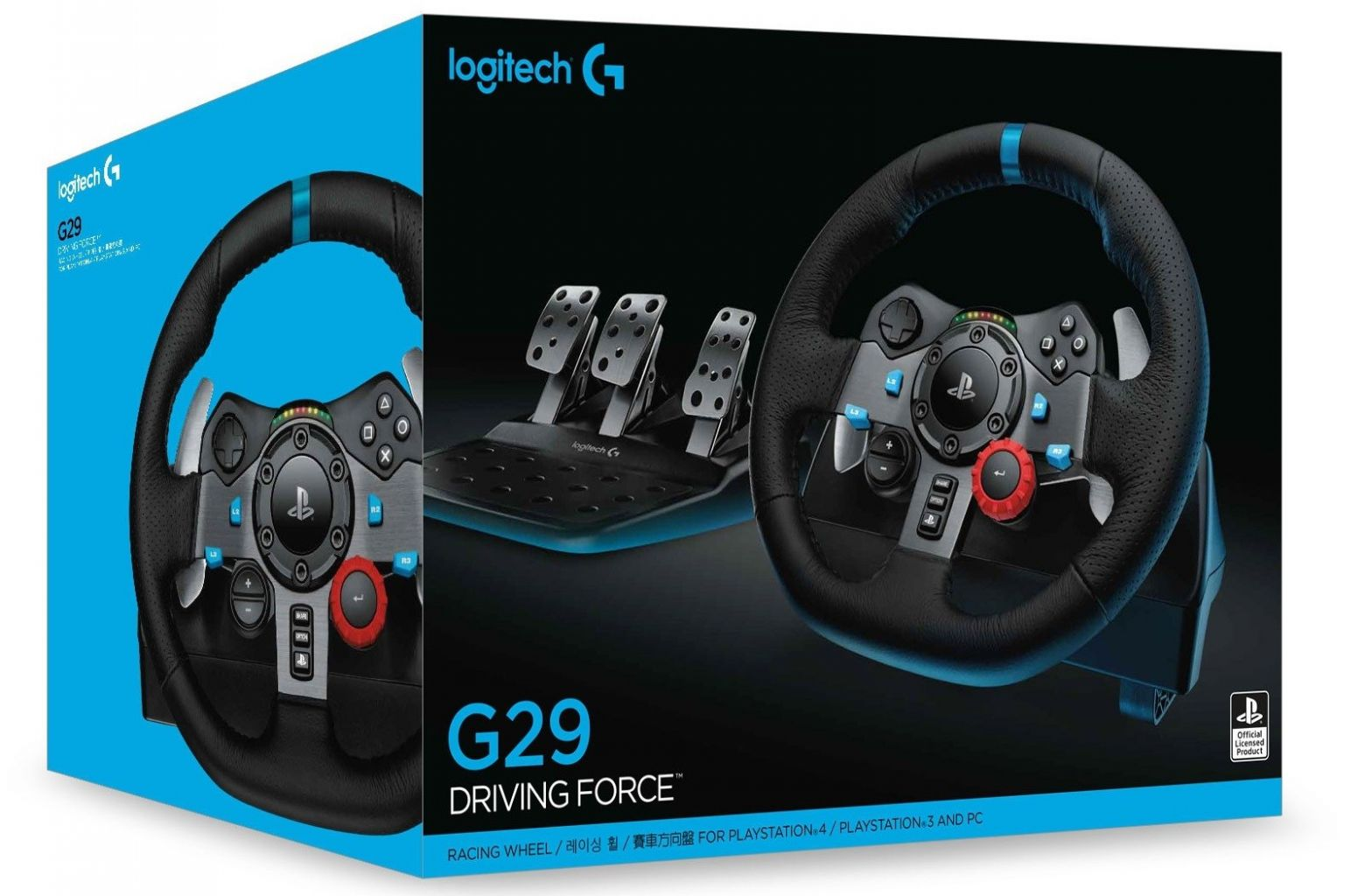 הגה מירוצים Logitech Driving Force G29