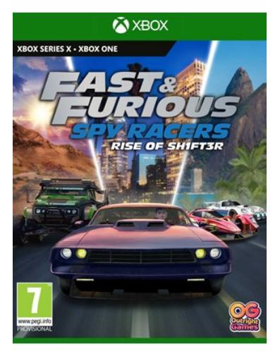 Fast & Furious Spy Racers Rise of SH1FT3R Xbox Series X / One הזמנה מוקדמת